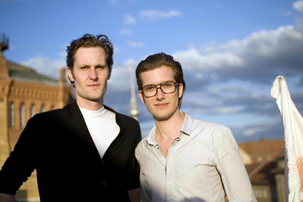 Das sind die Soundcloud-Gründer Eric Wahlforss & Alexander Ljung