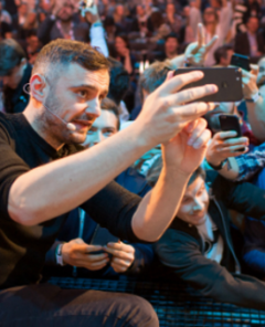 Gary Vaynerchuk auf dem Online Marketing Rockstars Festival im Jahr 2017
