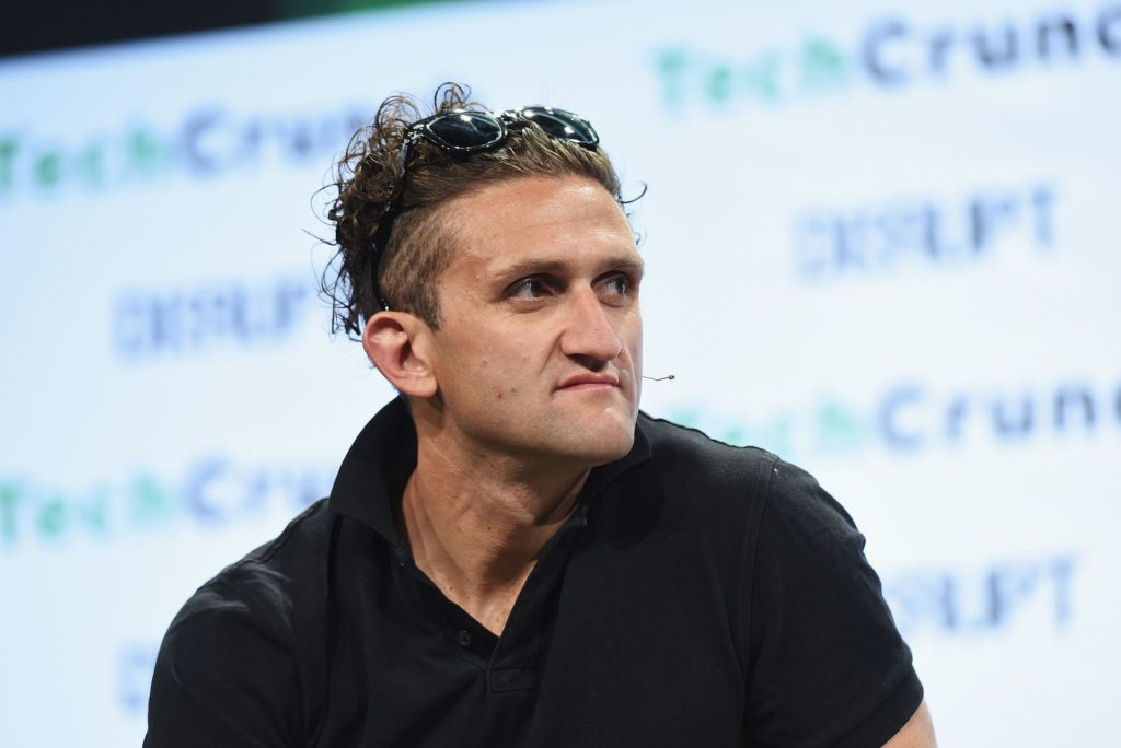 Casey Neistat auf der TechCrunch Disrupt New York im Mai 2016