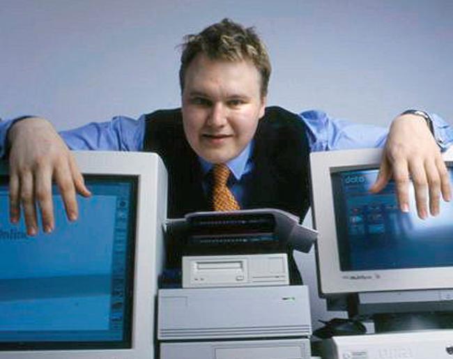 Kim Dotcom alias Kim Schmitz im Jahr 1996