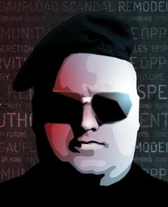 Das aktuelle Profilbild des 43-jährigen Internet-Unternehmers Kim Schmitz alias Kim Dotcom