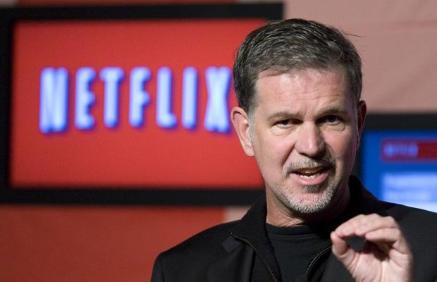 Reed Hastings ist seit 1998 Geschäftsführer von Netflix