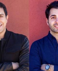 Die beiden Tinder-Mitgründer Sean Rad & Justin Mateen im Forbes-Magazine im Jahr 2014