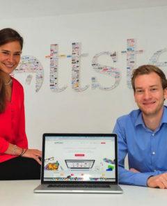 Freya Oehle und Tobias Kempkensteffen: Optimismus trotz Startup-Aus