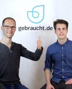 Wie Stefan Tietze und Oliver Kaiser mit Gebraucht.de der Auktionsplattform eBay.de Konkurrenz machen wollen