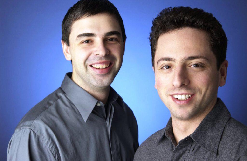 Wer sind Sergey Brin oder Larry Page und wer sind die Gründer von Google?