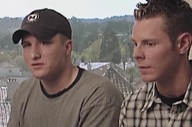 Sean Parker und Shawn Fanning - Gründer von Napster
