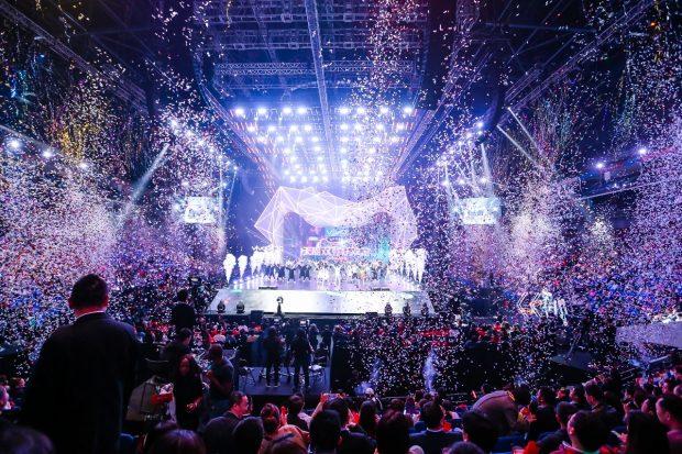 Alibaba feiert Shopping-Event Singles' Day mit einer Riesenparty. (Bild: Alibaba)