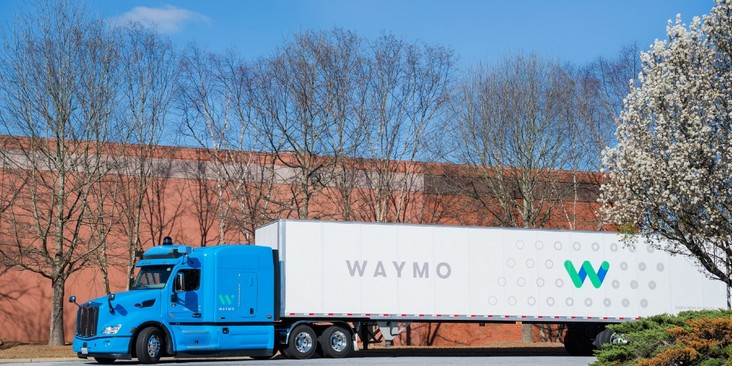 Alphabet-Tochter Waymo testet selbstfahrende LKWs