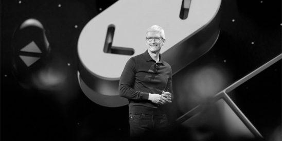 Tim Cook begrüßt Entwickler aus 77 verschiedenen Ländern zur WWDC 2018 (Foto: Pressematerial, Apple)