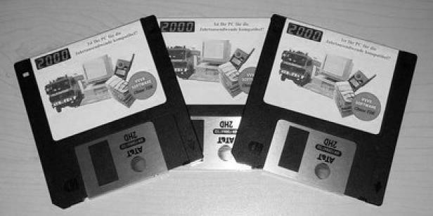 Musik-Label veröffentlicht Musikstücke auf 3,5-Zoll-Disketten (Foto: Strudelsoft)