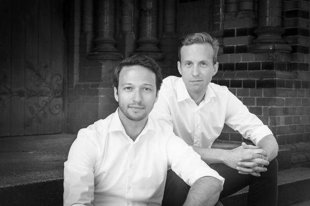 Gründer Robin Klemm (l.) und Christoph Basner (Foto: Pressematerial, November.de)