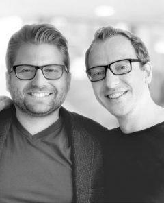 Die beiden eGym Gründer, Philipp Roesch-Schlanderer (CEO) und Florian Sauter (CTO) (Foto: Pressematerial, eGym)