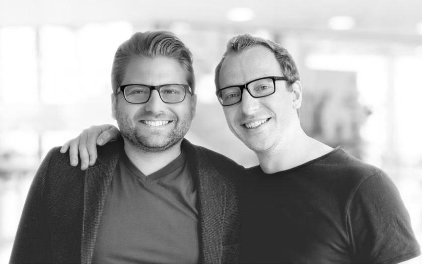 eGym Gründer Philipp Roesch-Schlanderer (CEO) und Florian Sauter (CTO) (Foto: Pressematerial, eGym)