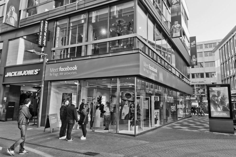 Facebook-Store in Köln (Foto: Pressematerial, Facebook)