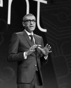Nokia-Geschäftsführer Rajeev Suri, Nokia MWC 2018 (Foto: Pressematerial, Nokia)