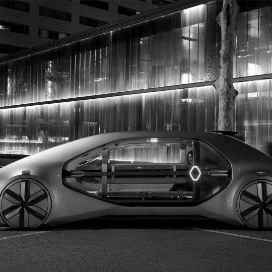 Autonome Autos werden zu selbstfahrenden Bordellen (Foto: Pressematerial, Renault)
