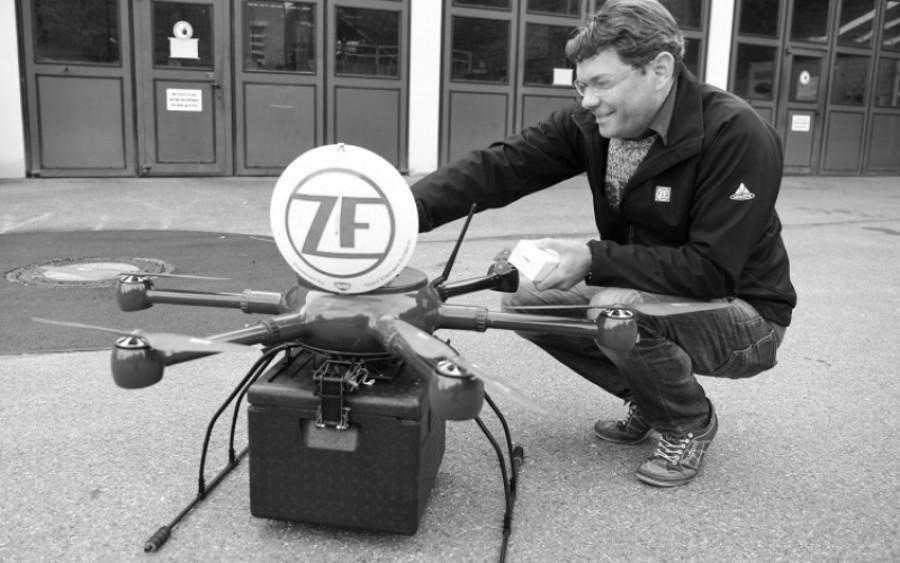 ZF Friedrichshafen AG: Erste behördliche Genehmigung für automatisierte Drohnenflüge (Foto: Pressematerial, ZF)
