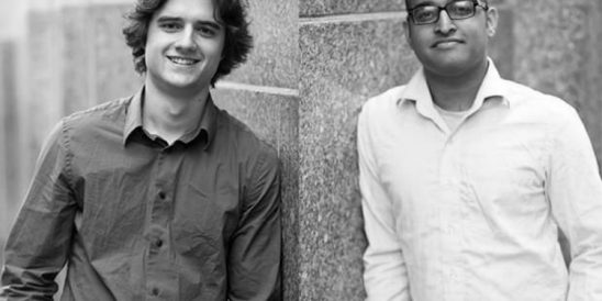 Garrett Ullom and Nikhil Sethi, 23 and 24, Co-founders, Adaptly (Foto: Pressematerial, Adaptly)