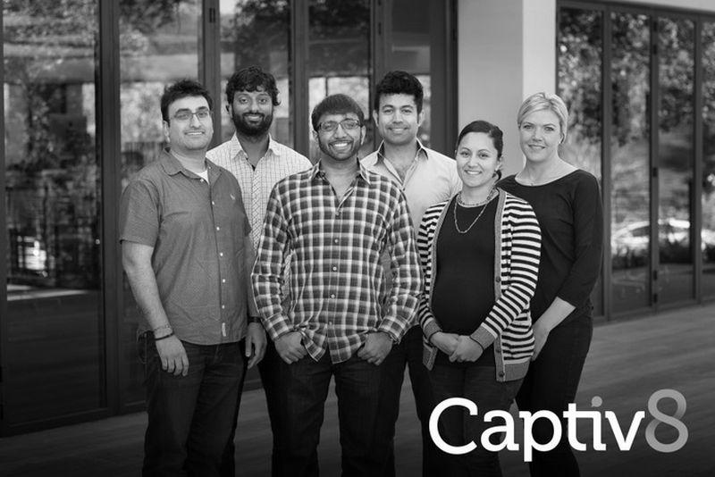 Das Team von Captiv8. (Foto: Captiv8)