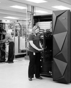 IBM Rechenzentrum (Pressematerial, IBM)