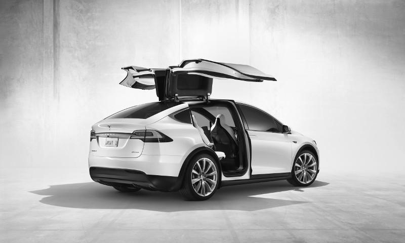 Tesla Model X (Foto: Pressematerial, Tesla)