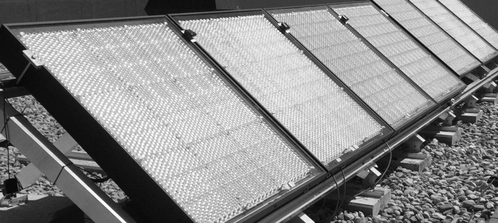 Die Solarpanels von Insolight sollen um 30 Prozent Wirkungsgrad erreichen.