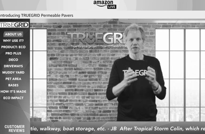 Auf Amazon Live bewerben Hersteller und Händler ihre Produkte.