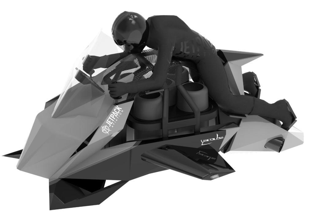 Der Speeder soll bis über 4500 Meter hoch fliegen.