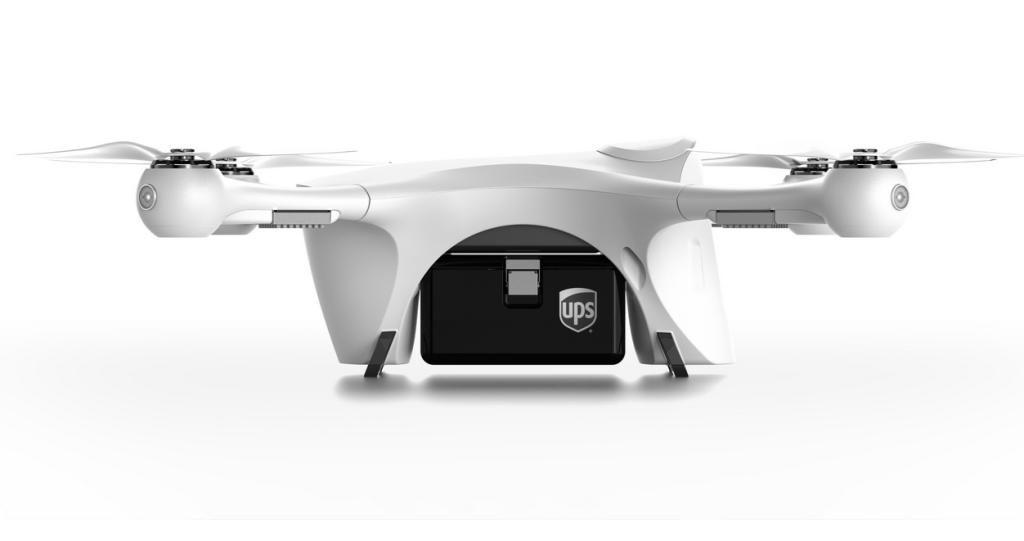 Drohnen von Matternet fliegen bald für UPS.