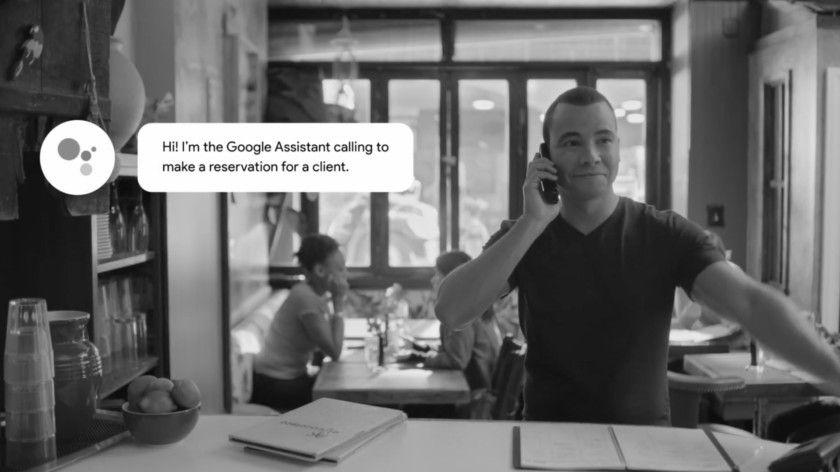 Google Duplex kann bei Restaurants anrufen und Tische bestellen.