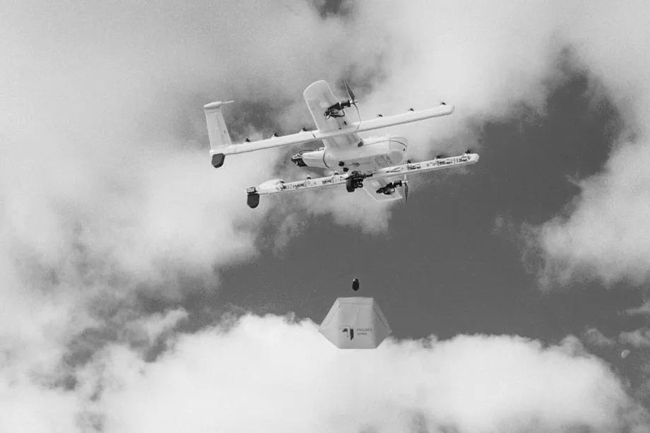 Die Drohnen von Wing nehmen in Virginia den Lieferbetrieb auf.