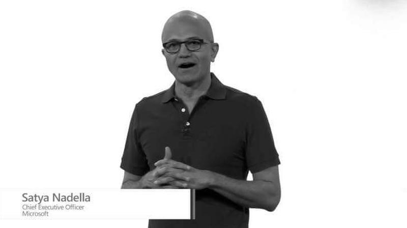 Microsoft-CEO Satya Nadelle hat auf der Tagung Build 2019 sas Windows Terminal und andere Neuheuten vorgestellt.