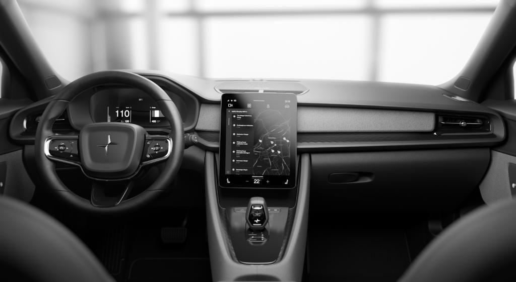 So soll Android Automotive im kommenden Polestar 2 aussehen.