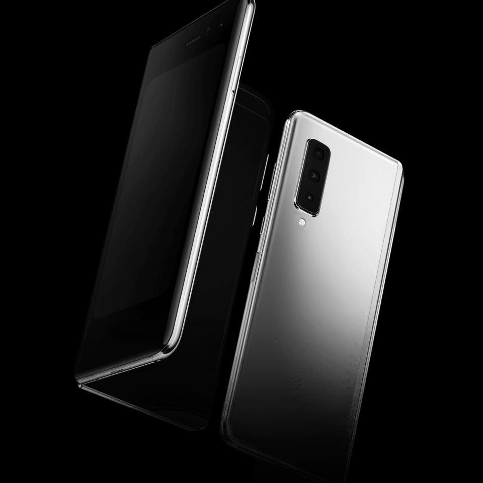 Das Galaxy Fold von Samsung wird voraussichtlich im Laufe des Junis 2019 ausgeliefert.  (Bild: Samsung)