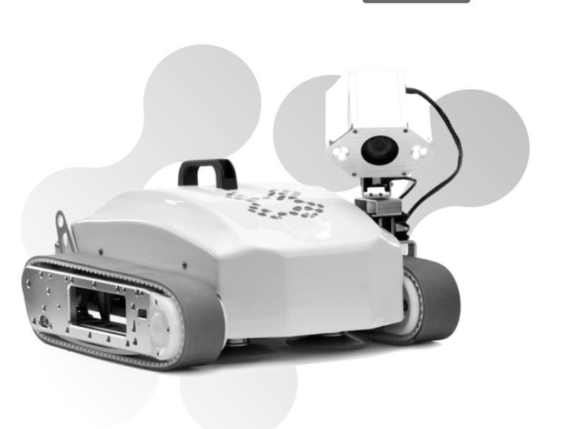 Die Roboter von Invert Robotics halten sich mit Saugnäpfen an nichtmagnetischen Flächen fest. (Bild: Invert Robotics)