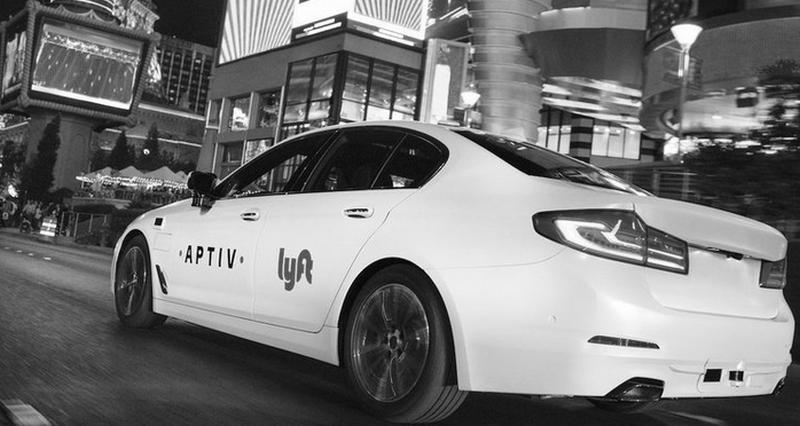 In Las Vegas sind autonome Fahrzeuge mit Sicherheitsfahrer seit über einem Jahr unterwegs.