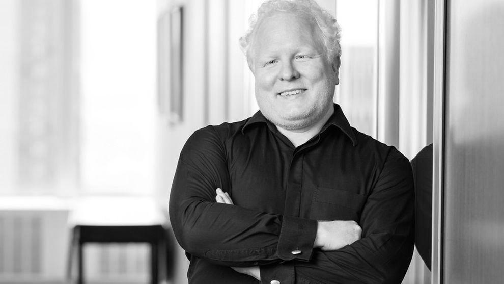 Chris Boos, Chef der Frankfurter KI-Firma Arago und Mitglied im Digitalrat der Deutschen Bundesregierung (Foto: Matt Greenslade/photo-nyc.com)
