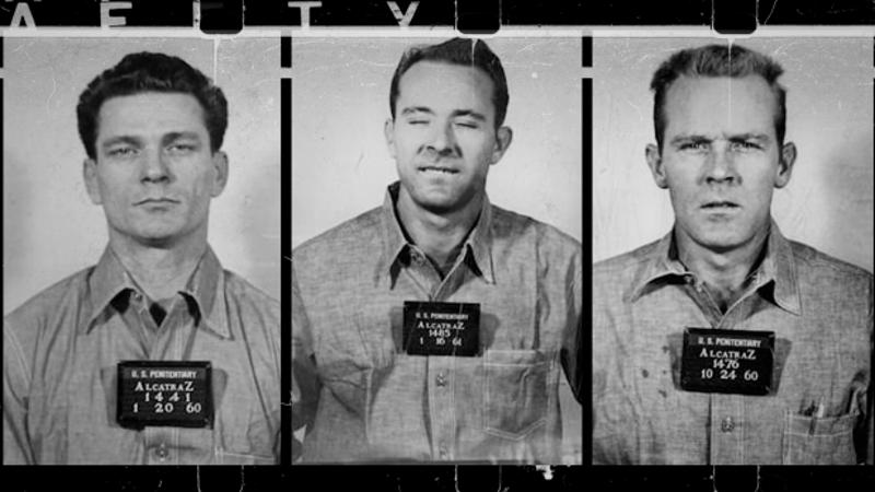 Frank Morris, John und Clarence Anglin sind 1962 aus Alcatraz geflohen - und wurden nie wieder gefunden