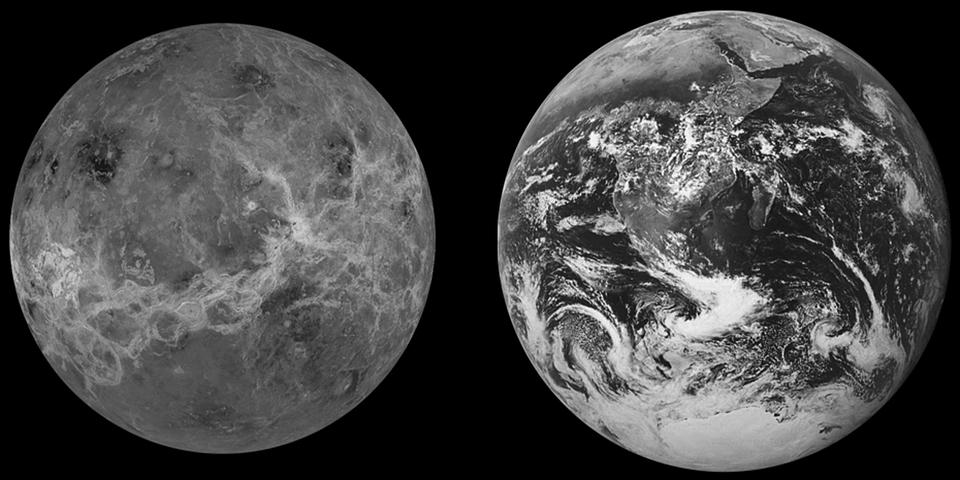 Warum der Planet Venus nicht mehr lebensfreundlich oder bewohnbar ist (Foto: Pixabay)
